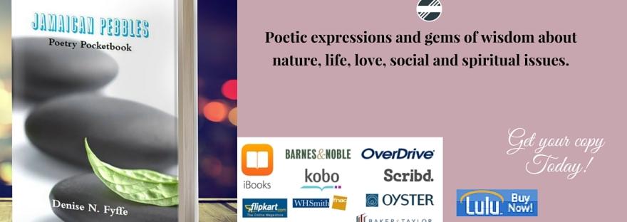 Denise N Fyffe book banner - Jamaica Pebbles